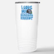 Kawaii Senegal Parrot Travel Mug
