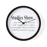 Studies Wall Clock