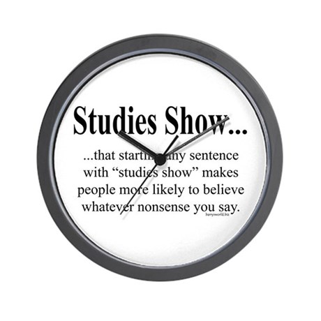 Studies Wall Clock