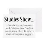 Studies Greeting Cards (Pk of 20)