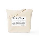 Studies Tote Bag