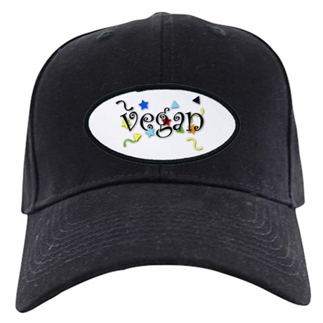 Vegan Curls Black Cap