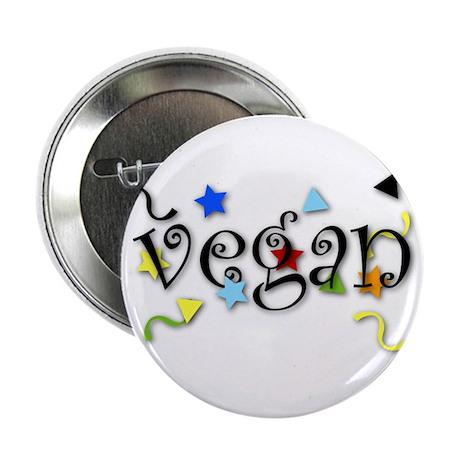 "Vegan Curls 2.25"" Button"