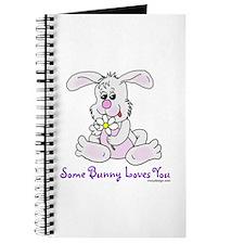 Cute Bunny Rabbit Journal