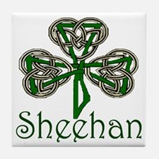 Sheehan Shamrock Tile Coaster