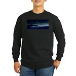 Saturn View Long Sleeve Dark T-Shirt