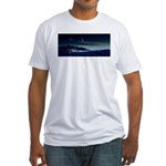 Saturn View Fitted T-Shirt