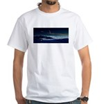 Saturn View White T-Shirt