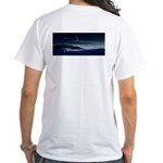 Saturn View White T-Shirt