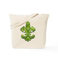 Irish Gem Fleur de lis Tote Bag