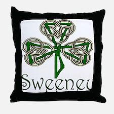 Sweeney Shamrock Throw Pillow
