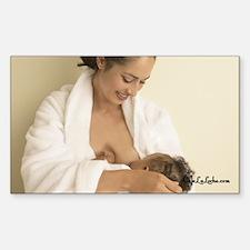 Nursing Mama Rectangle Decal