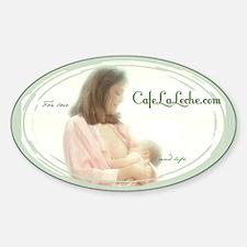 Nursing Mama Logo Oval Decal