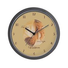 Cafe LaLeche Wall Clock