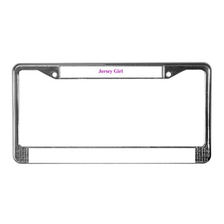 JERSEY GIRL 401 License Plate Frame
