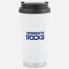heriberto rocks Travel Mug