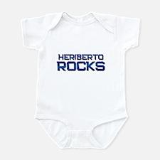 heriberto rocks Infant Bodysuit
