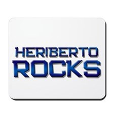 heriberto rocks Mousepad