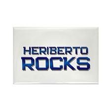 heriberto rocks Rectangle Magnet
