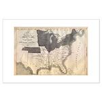 "1861 Map 17.5"" hi image Large Poster"