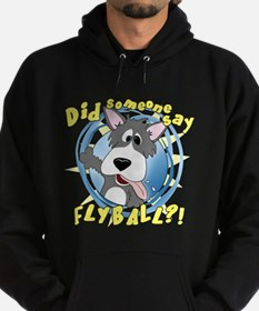Crazy Flyball Dog Hoodie