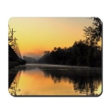 Morning on the Canal-Mousepad