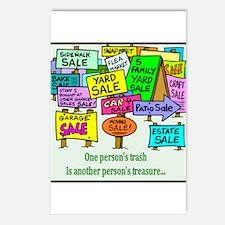 Yard Sales Postcards (Package of 8)