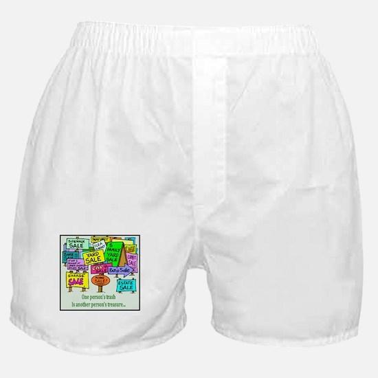 Yard Sales Boxer Shorts