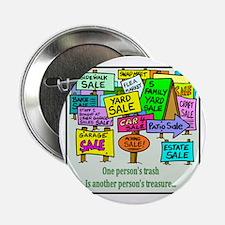 """Yard Sales 2.25"""" Button"""
