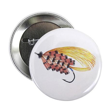 """Golden Butterfly 2.25"""" Button (100 pack)"""