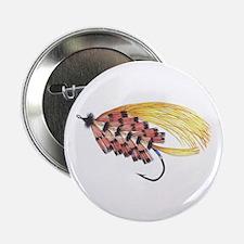Golden Butterfly 2.25&Quot; Button