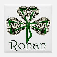 Ronan Shamrock Tile Coaster