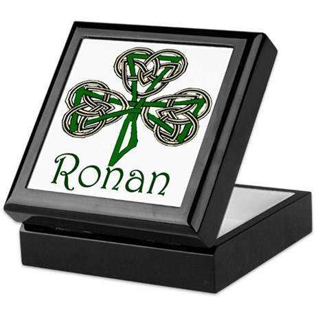 Ronan Shamrock Keepsake Box