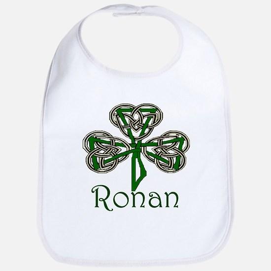Ronan Shamrock Bib