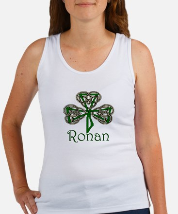 Ronan Shamrock Women's Tank Top