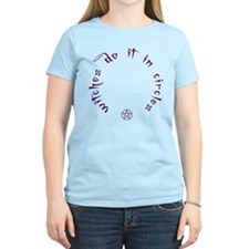 Witches do it in circles Women's Light T-shirt