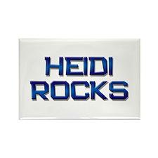 heidi rocks Rectangle Magnet