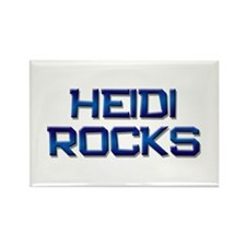 heidi rocks Rectangle Magnet (10 pack)
