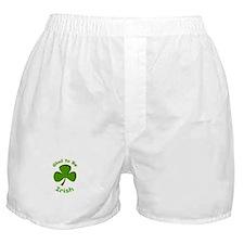 Glad to Be Irish Boxer Shorts