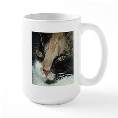 Calico Tiger Girls's Closeups Mug