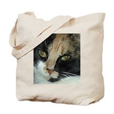 Calico Tiger Girls's Closeups Tote Bag