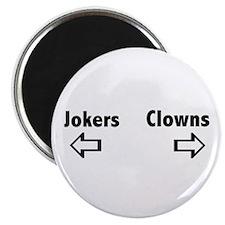 Clowns & Jokers Magnet