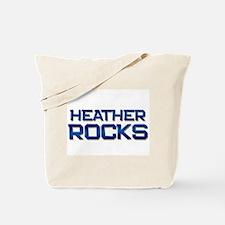 heather rocks Tote Bag
