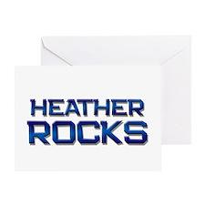 heather rocks Greeting Card