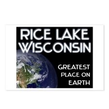 rice lake wisconsin - greatest place on earth Post