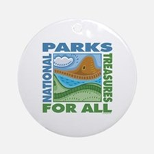 National Parks Ornament (Round)