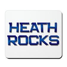 heath rocks Mousepad