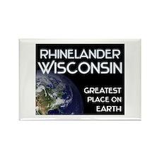rhinelander wisconsin - greatest place on earth Re