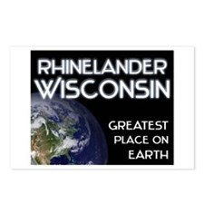 rhinelander wisconsin - greatest place on earth Po