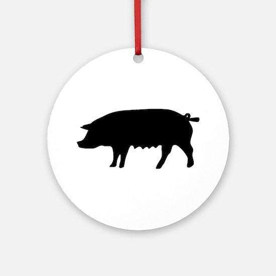 pig fluke Ornament (Round)